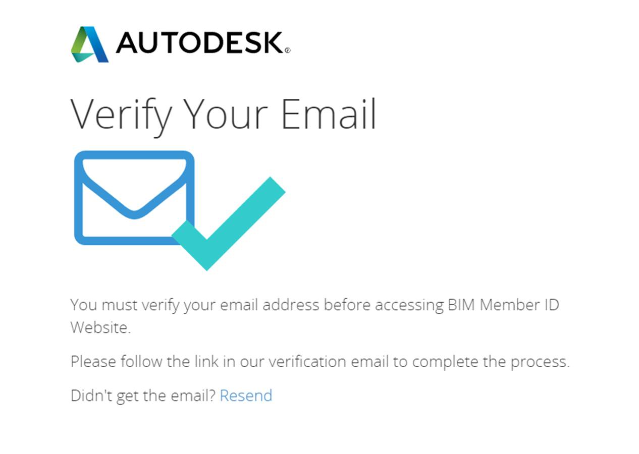 verify your email